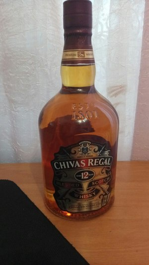 Виски Chivas Regal 12 y.o. 1л