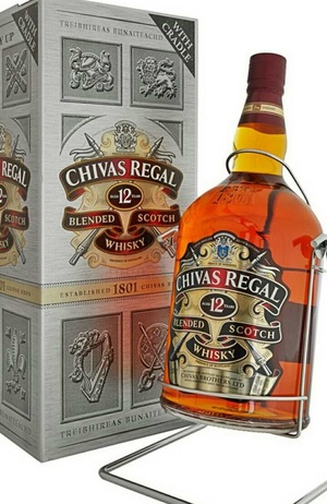 CHIVAS REGAL 12 лет 4,5литра