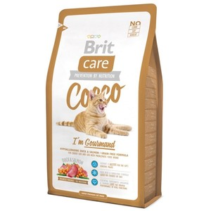 Корм для кошек BRIT CARE Cat Cocco I'am Gourmand